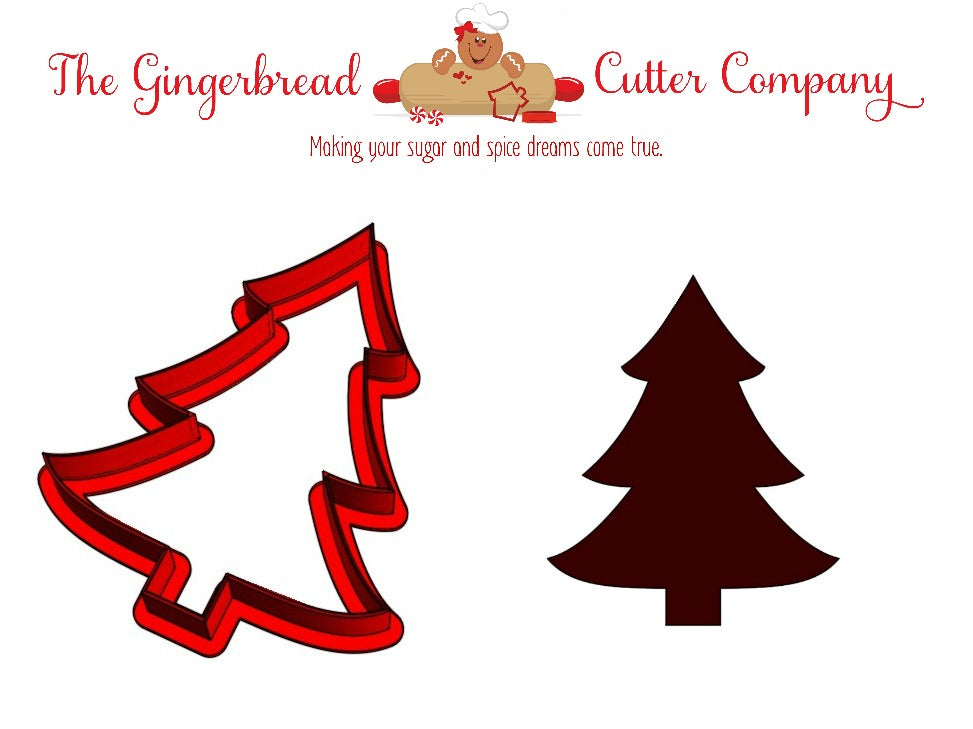 Christmas Tree Cookie Cutter - 3 Size Options