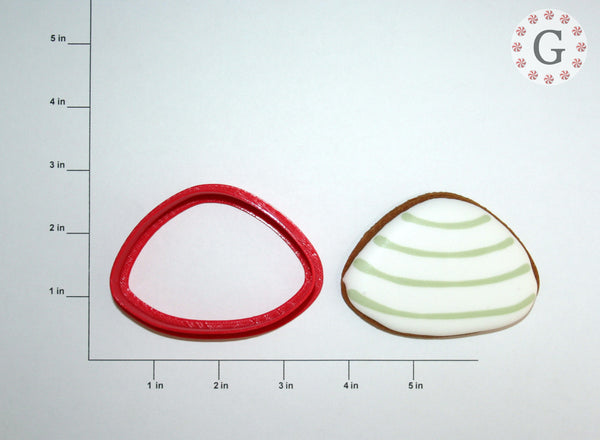 Clam Cookie Cutter - 3 Size Options