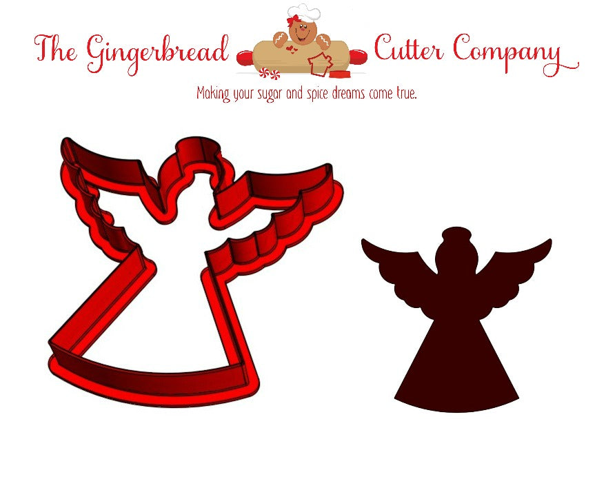 Classic Angel Cookie Cutter