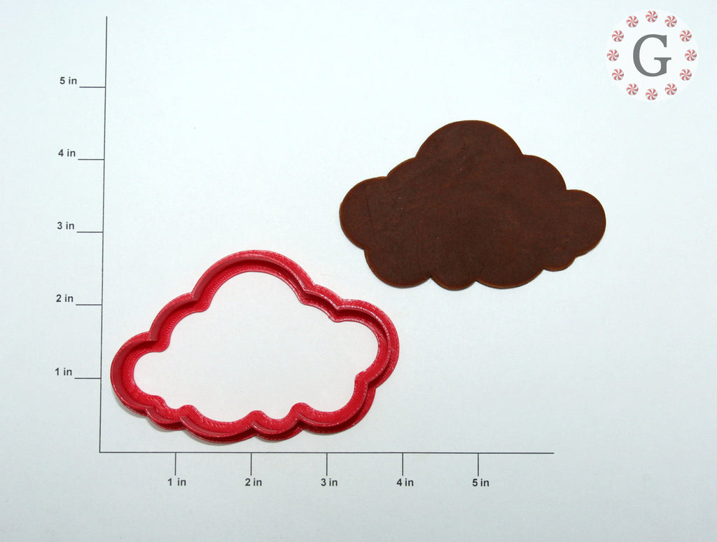"3.5"" Cloud Cookie Cutter"