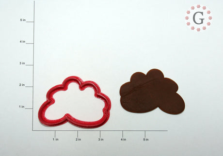 "3"" Cloud Cookie Cutter"