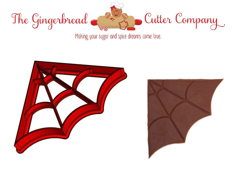 Spider Web Cookie Cutter - 2 Design Options