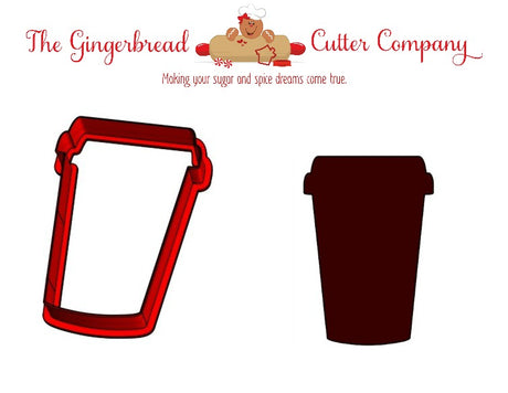 Coffee To Go Cookie Cutter