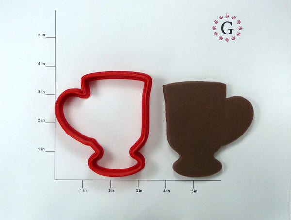 Footed Mug Cookie Cutter