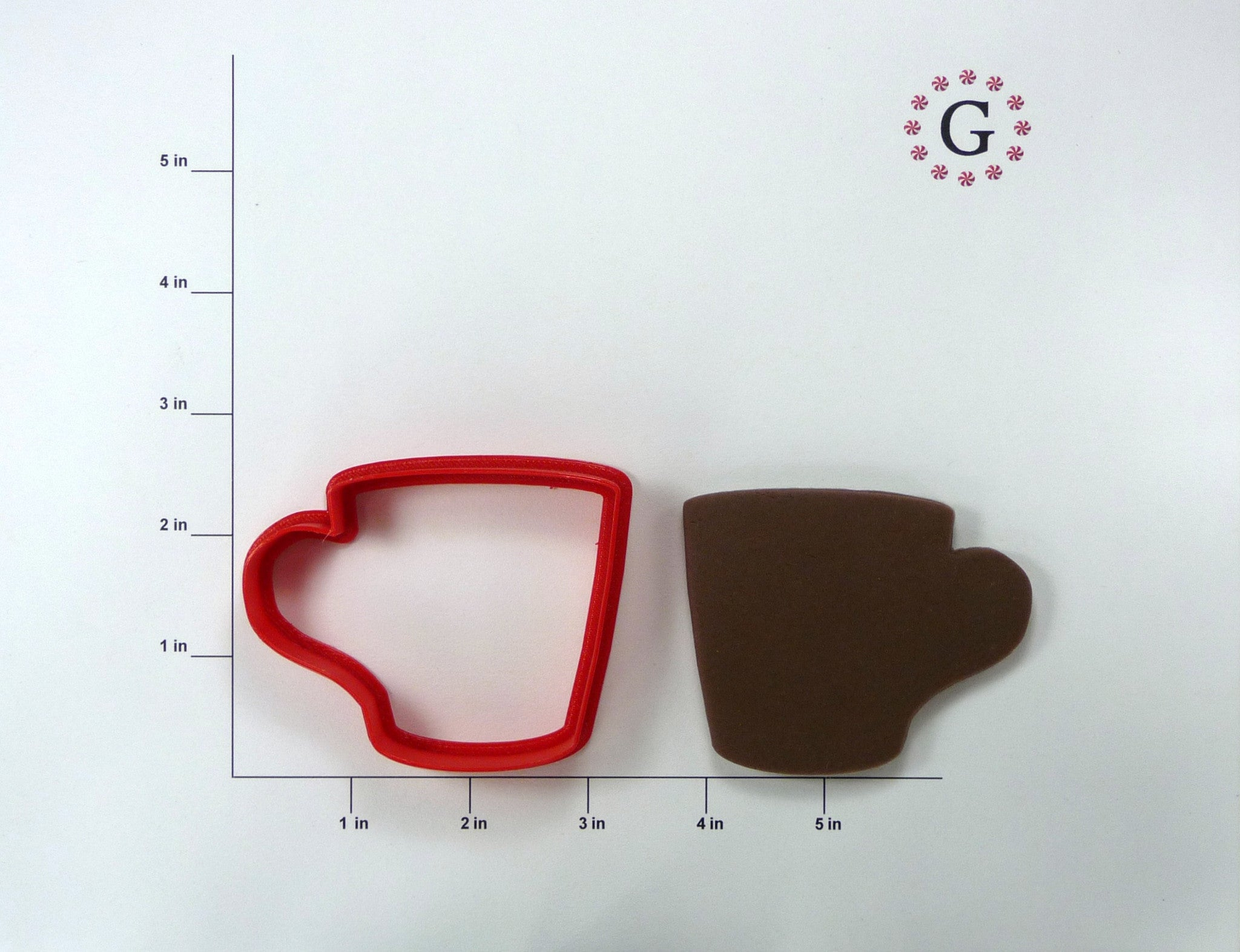 Small Coffee Cup Cookie Cutter