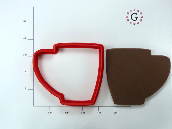 Large Coffee Cup Cookie Cutter
