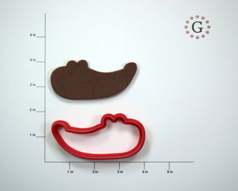 Crocodile Head Cookie Cutter