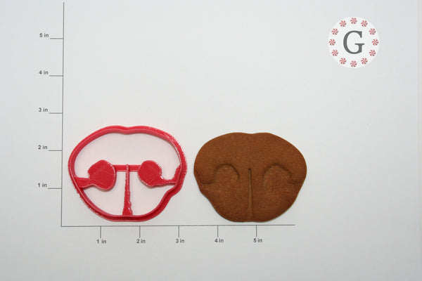 Dog Nose Cookie Cutter
