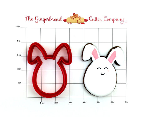 Egg with Bunny Ears Cookie Cutter