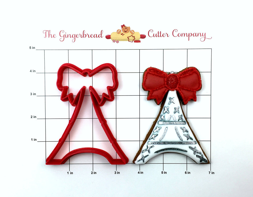 Eiffel Tower With Bow Cookie Cutter