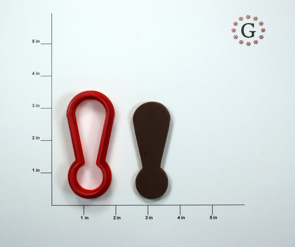 Exclamation Mark Cookie Cutter