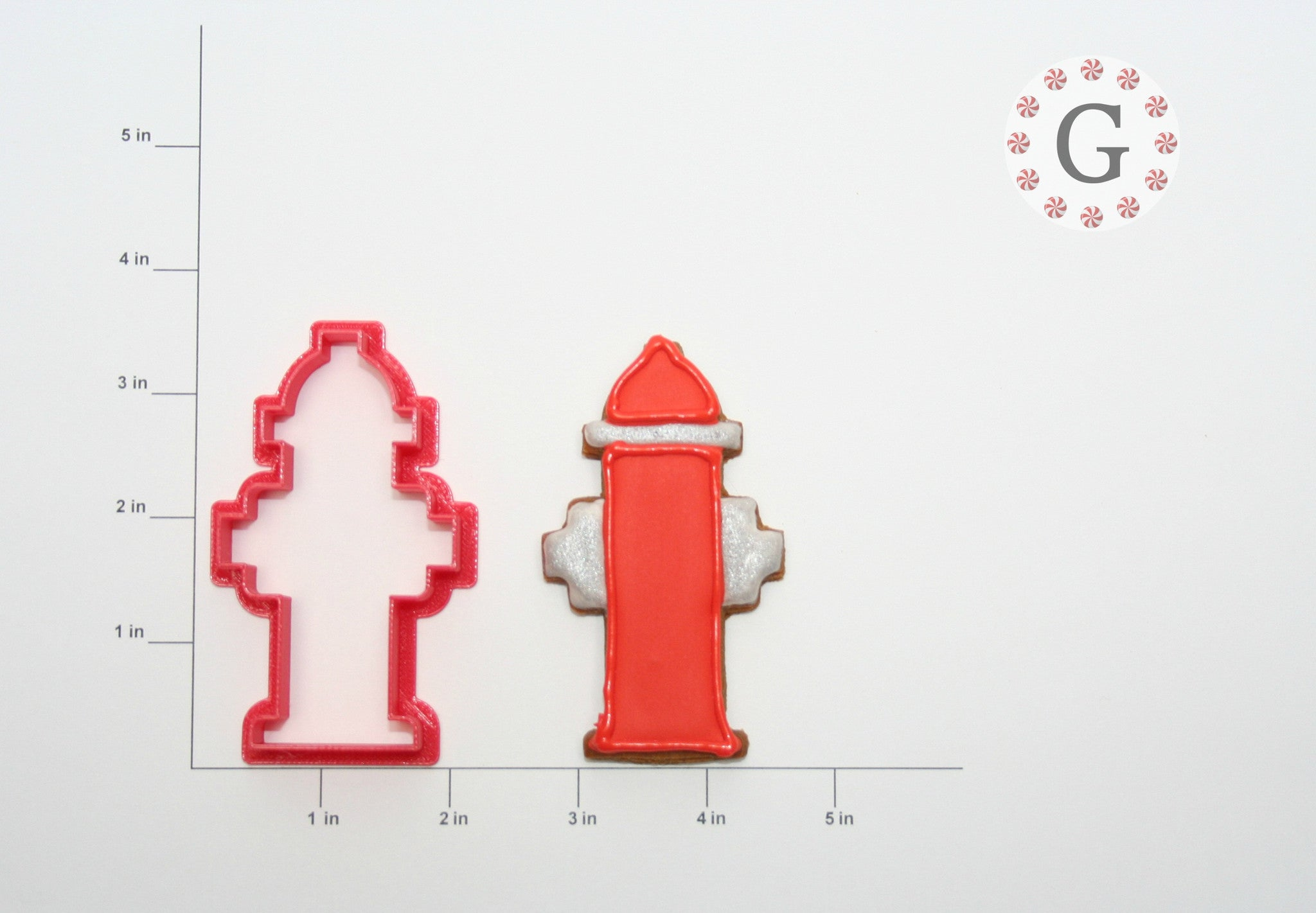 Skinny Fire Hydrant Cookie Cutter