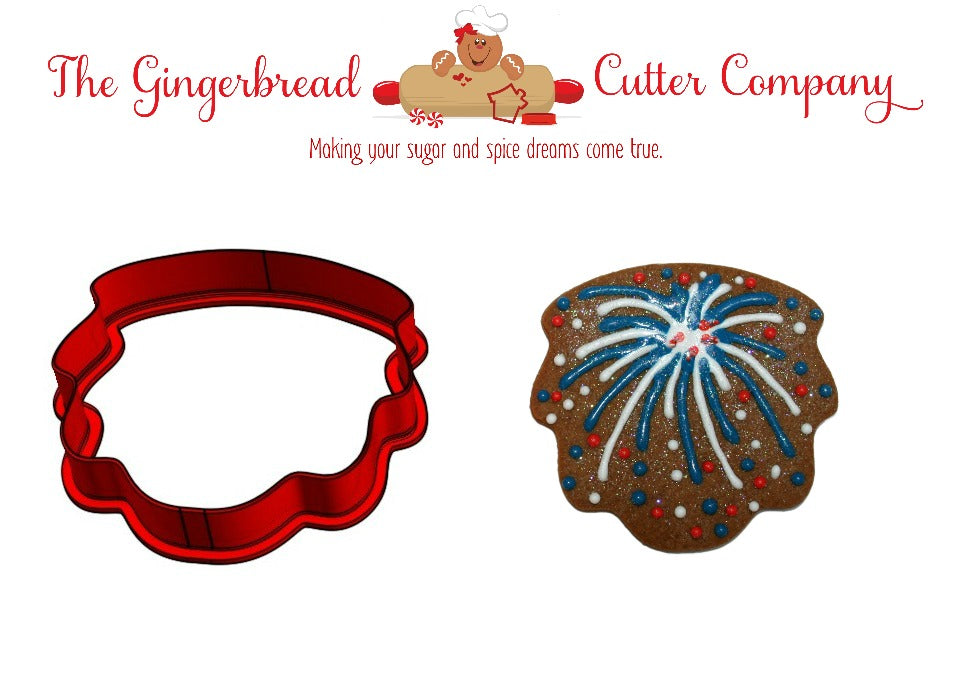 Fireworks Cookie Cutter