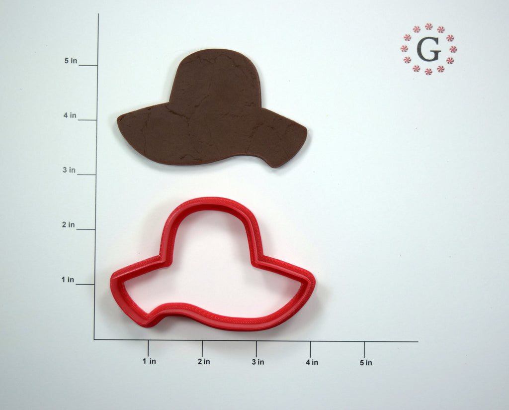 Floppy Hat Cookie Cutter