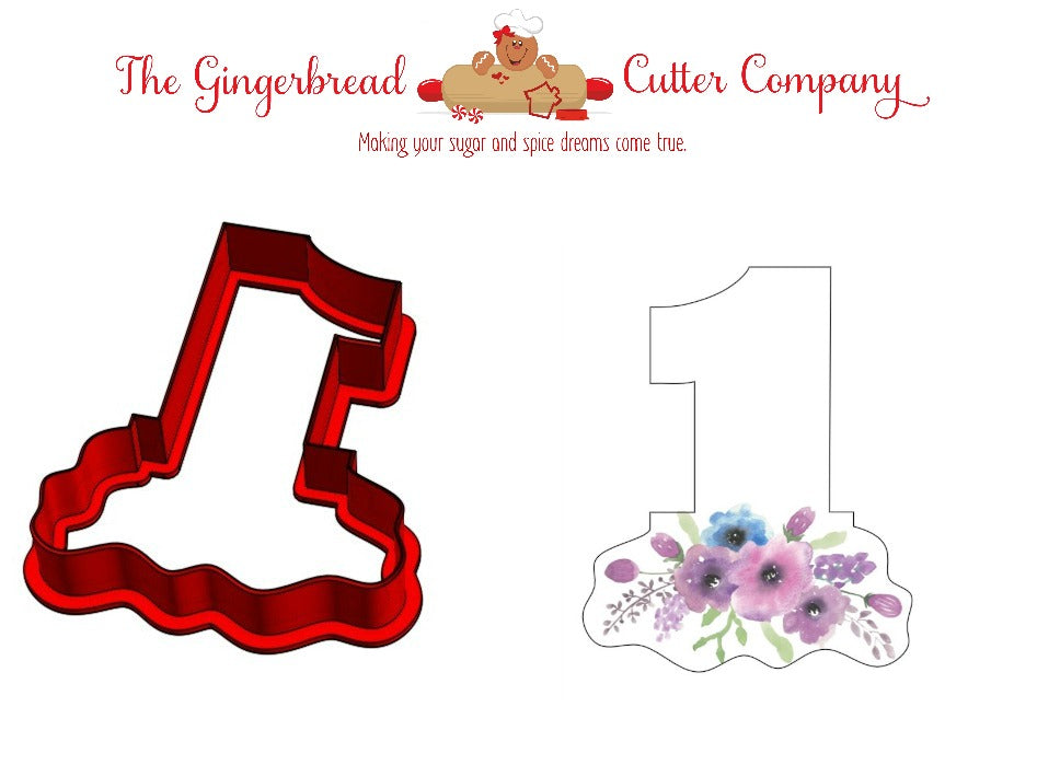 Floral Numbers Cookie Cutters