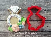 Floral Ring Cookie Cutter