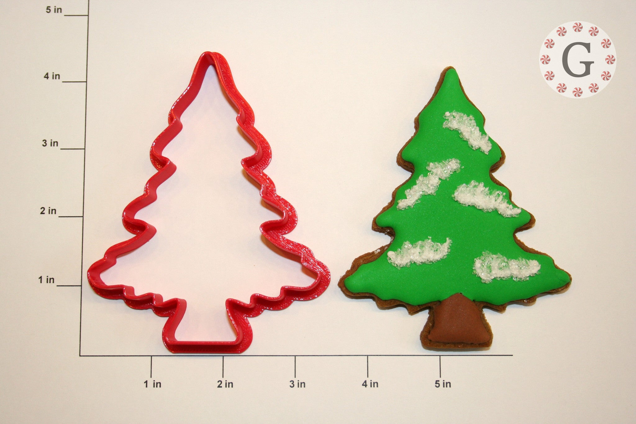 Fluffy Tree Cookie Cutter