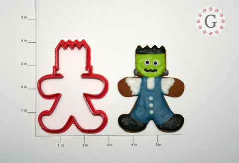 Frankie the Gingerbread Man Cookie Cutter