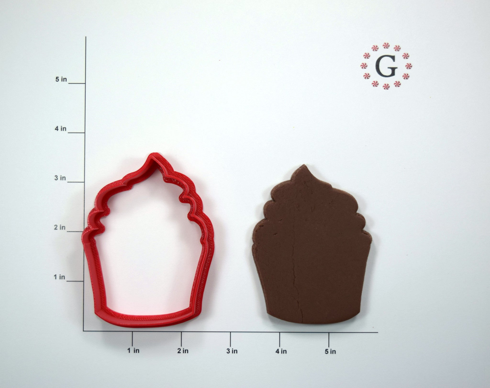 Frosted Cupcake Cookie Cutter