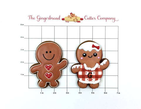 Chubby Gingerbread Man Cookie Cutter