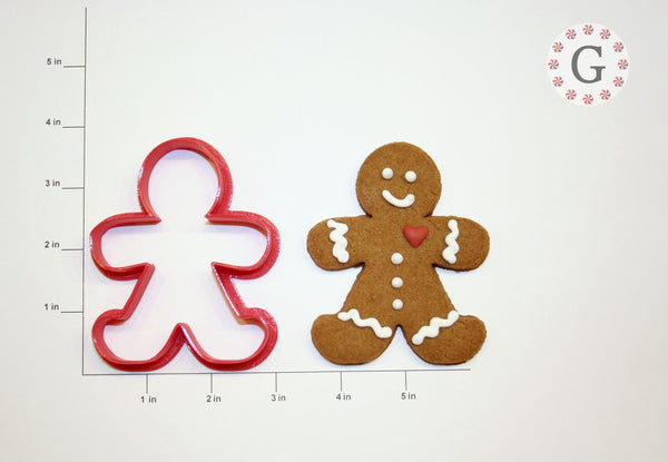 Tall Gingerbread Man Cookie Cutter