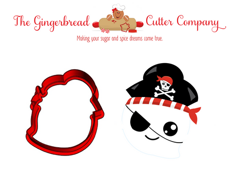 Ghost Pirate Cookie Cutter