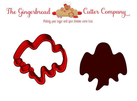 Ghost -Wide Cookie Cutter
