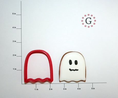 Ghost Cookie Cutter - 2 Size Options