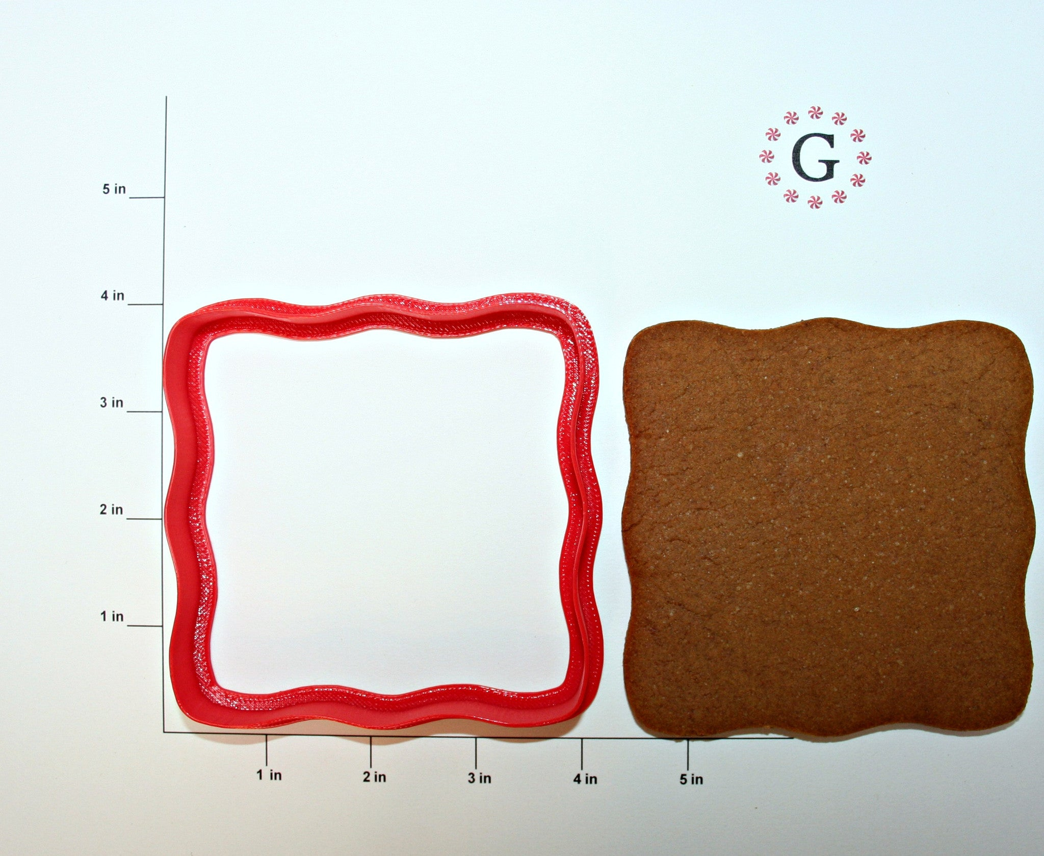 Mini Gingerbread House Platform Cookie Cutter