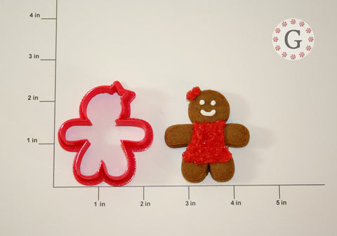 Gingerbread Girl Cookie Cutter