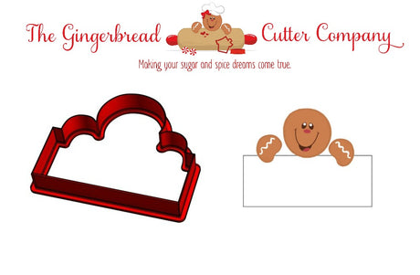 Gingy Boy Plaque Cookie Cutter