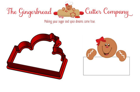 Gingy Girl Plaque Cookie Cutter