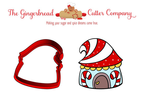 Gnome House Cookie Cutter