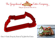 Navio Gnome Plaque Cookie Cutter