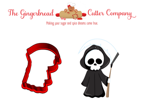 Grim Reaper Cookie Cutter