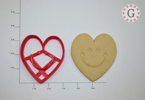 Happy Heart Cookie Cutter