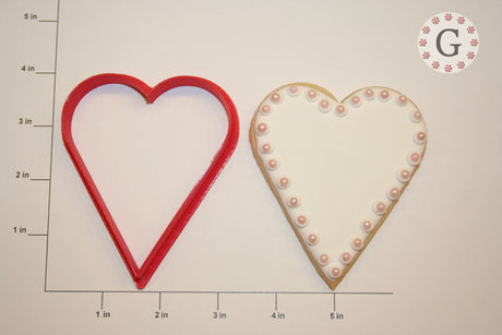 Tall Heart Cookie Cutter