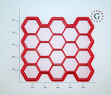 "1.25"" Hexagon 18-Count Cutter"