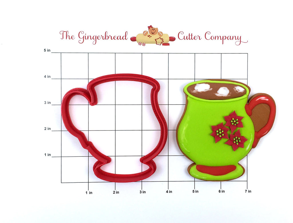 Hot Cocoa Mug Cookie Cutter