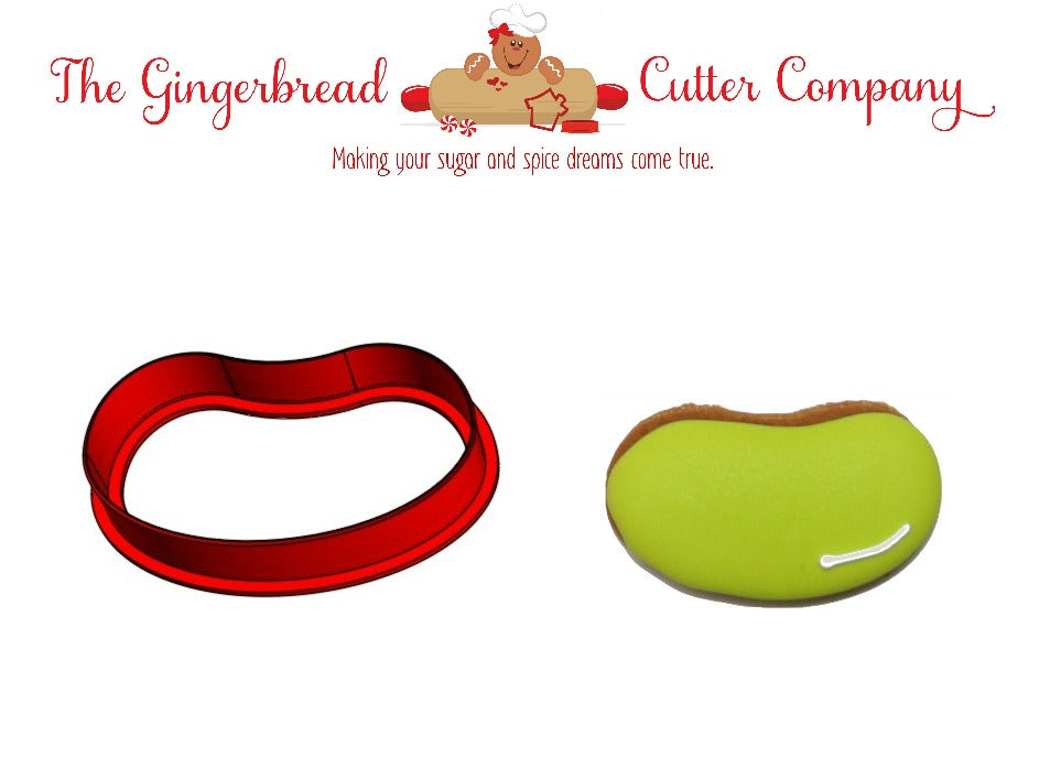 Jelly Bean Cookie Cutter