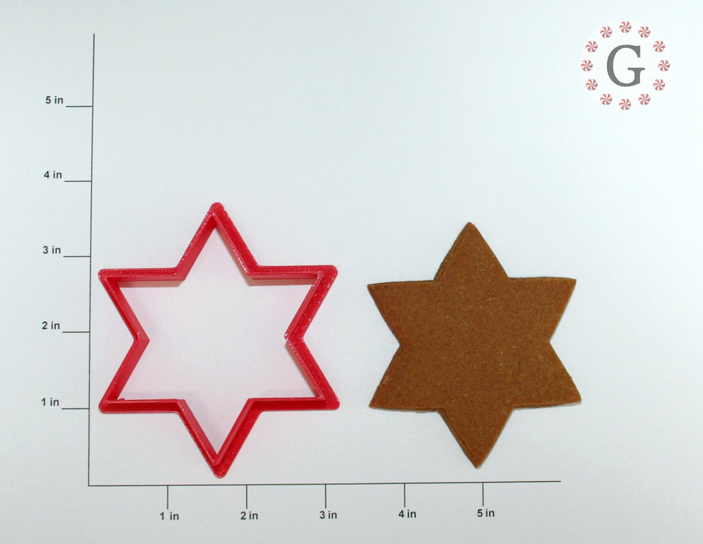 Jewish Star Cookie Cutter