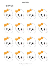 Kawaii Big Pack Royal Icing Transfer Templates - 7 Designs For The Price of 4!