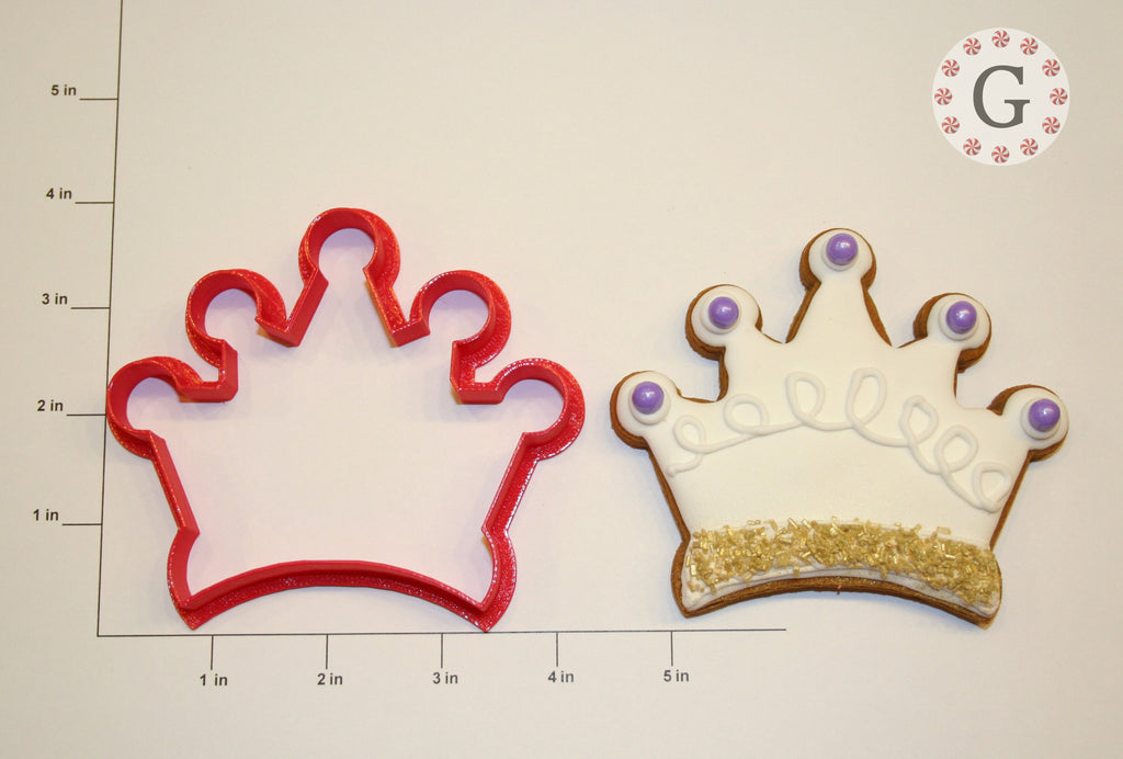 Kings Crown Cookie Cutter
