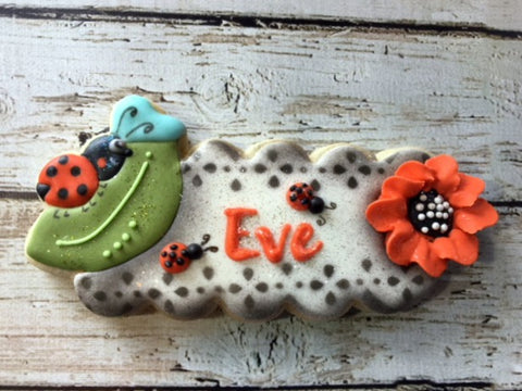 Ladybug Plaque Cookie Cutter