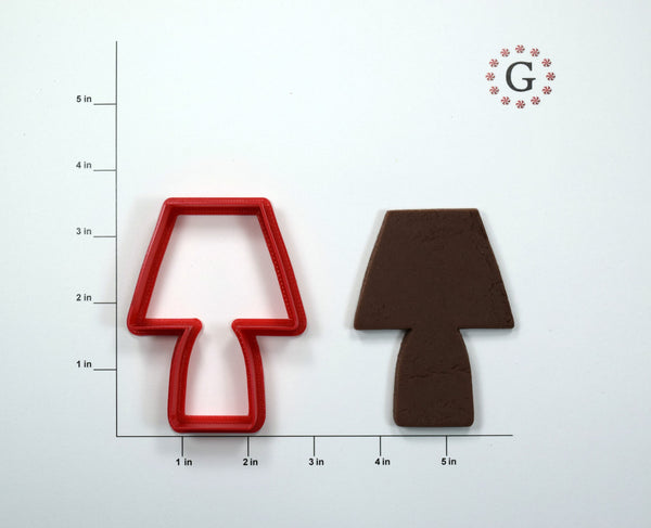 Lamp Cookie Cutter