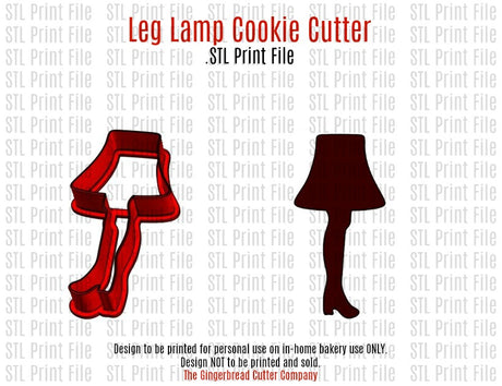 Leg Lamp Cookie Cutter .STL Print File