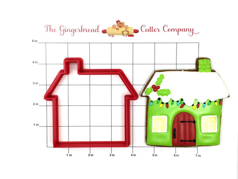 Gingerbread Manor Cookie Cutter