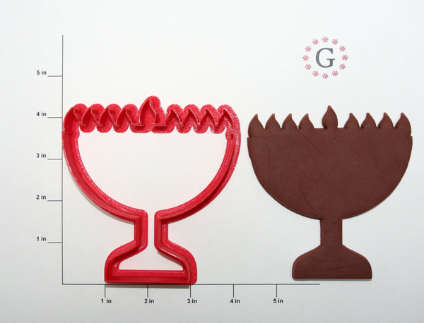 Menorah Cookie Cutter