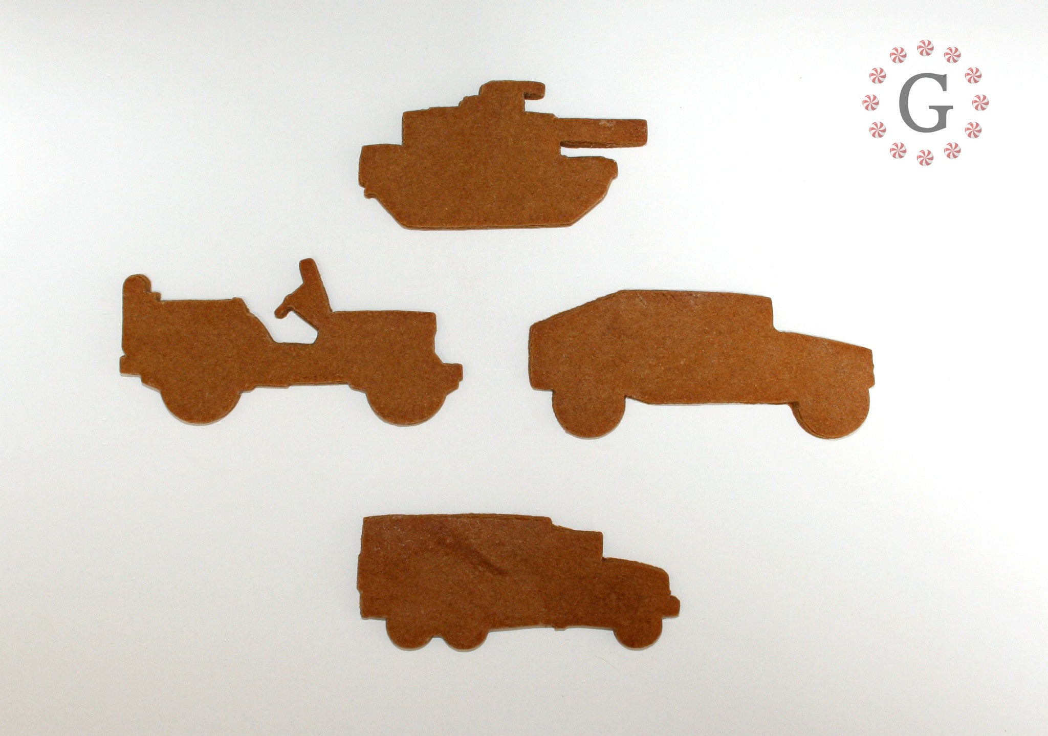 Military Jeep Cookie Cutter