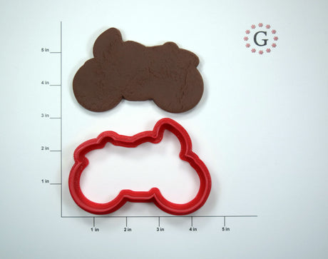 Motorcycle Cookie Cutter - 3 Size Options